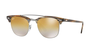 Ray Ban RB 3186 Clubmaster Doublebridge 1238/I3