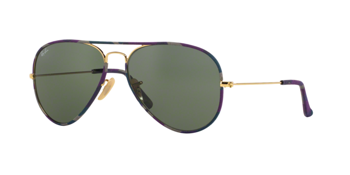 Ray Ban Rb 3025Jm Aviator Full Color 172