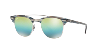 Ray Ban Rb 3186 Clubmaster Doublebridge 1239/i2